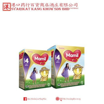 Dumex Mamil Step 4 (4 to 9 Years) [600G and 1.2KG]