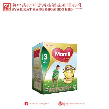 Dumex Mamil Step 3 (1 to 3 Years) [600G and 1.2KG]